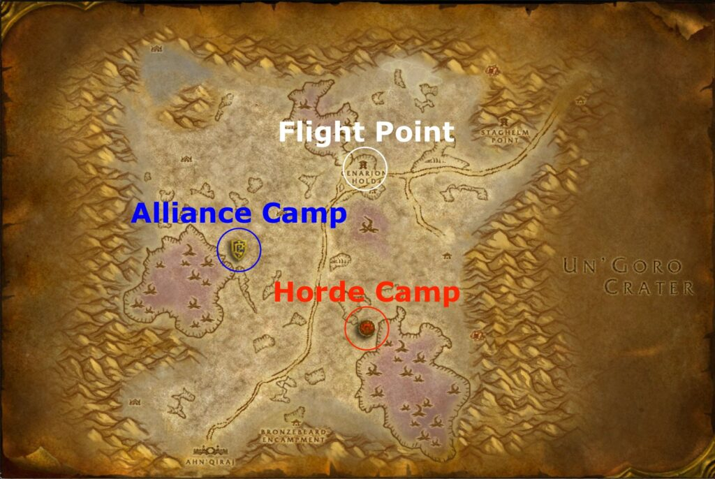 Silithus Field Duty Camps