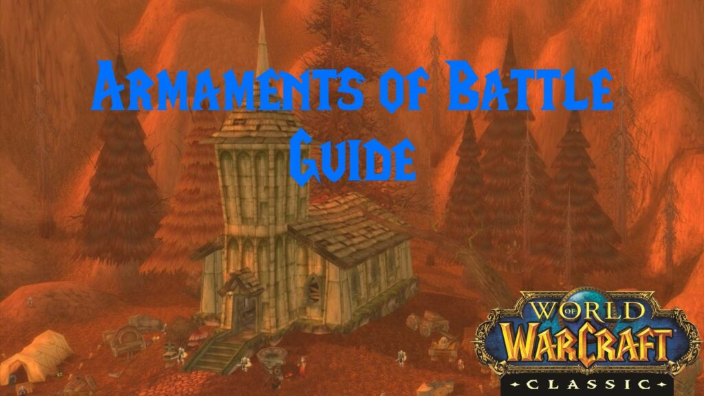Armaments of Battle Guide