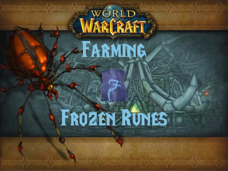 Farming Frozen Runes Wow Classic Bitt S Guides