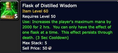 Flask of Distilled Wisdom