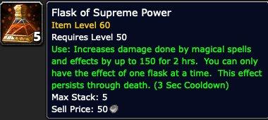 Flask of Supreme Power