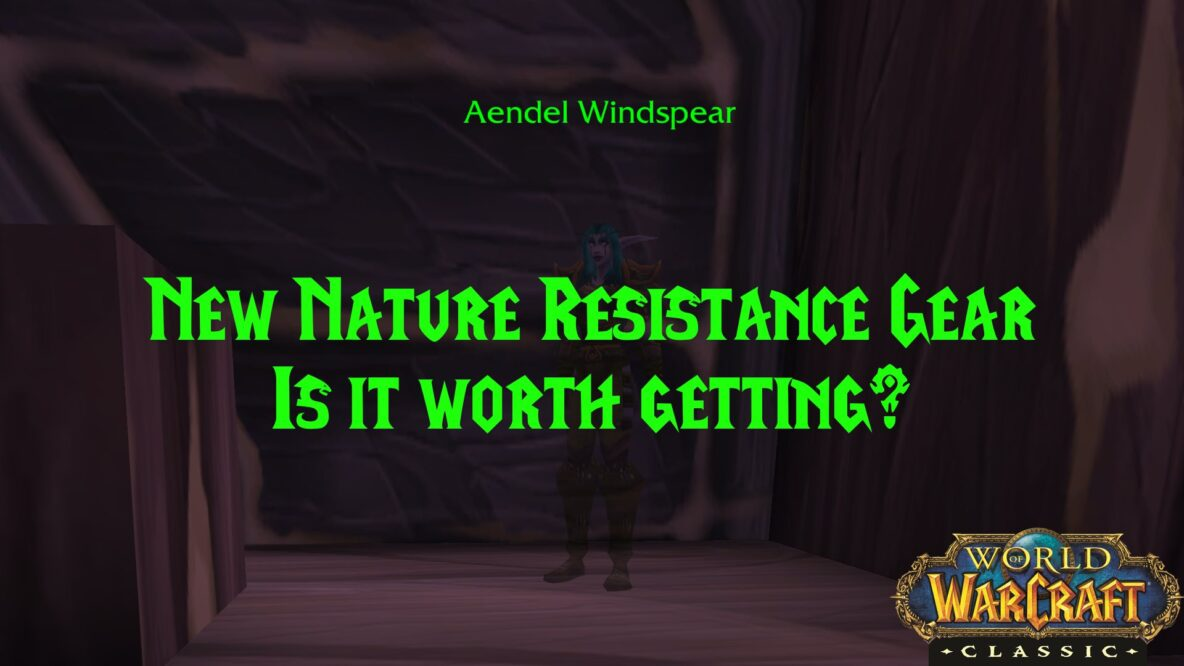 Is the Nature Resistance Catchup Gear Worth Getting?