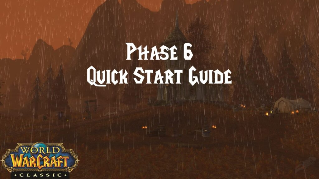 Phase 6 Quick Start Guide