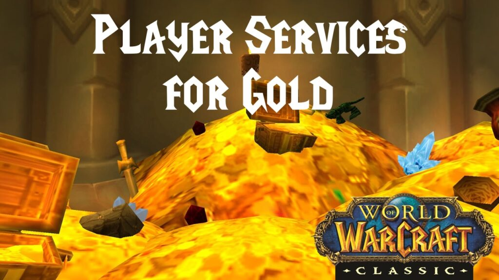 Player Services for Gold