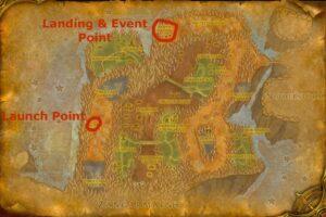 Bash'ir Landing Raid locations