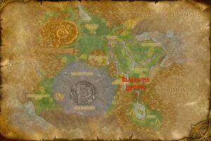 Blackwind Landing quest hub location