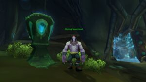 Mortog Steamhead, Cenarion Expedition vendor inside Coilfang